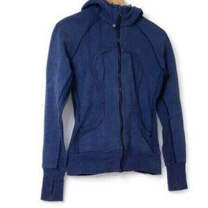 Lululemon Blue Scuba Hoodie Jacket 6
